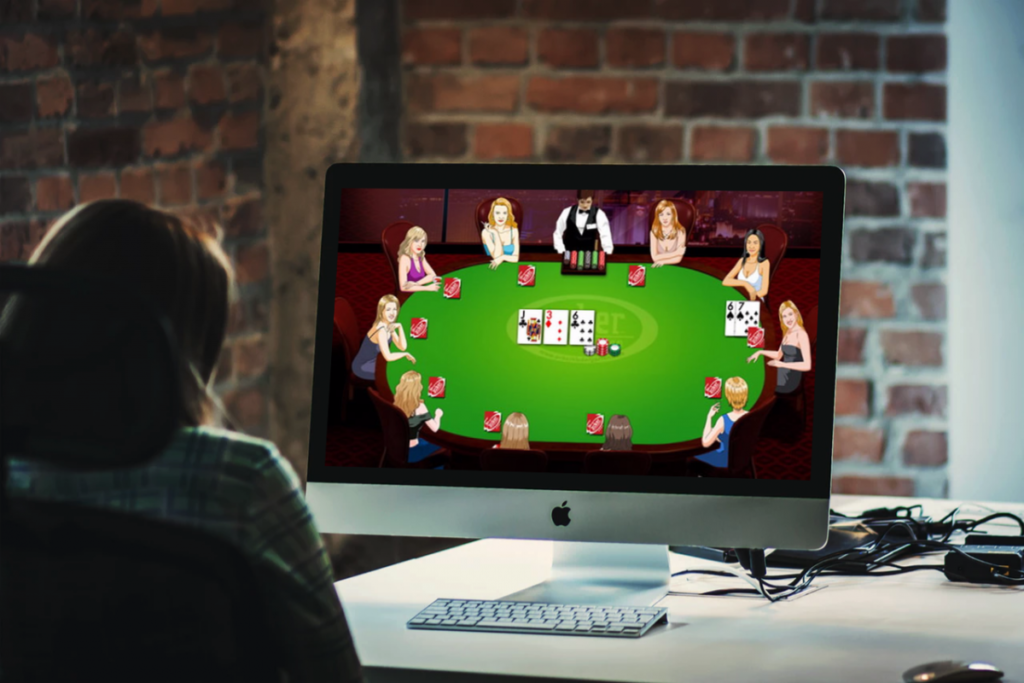 Play Online Poker play for money