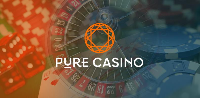 Pure Casino website